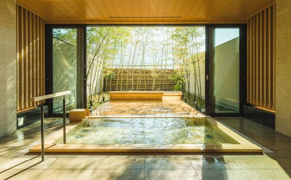 貸切風呂 檜の湯
