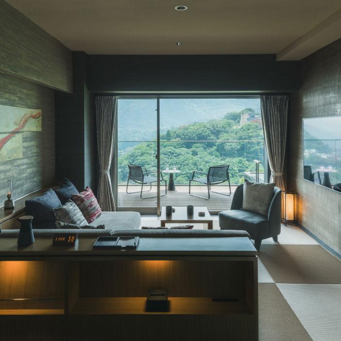 客室棟 東 露天風呂付 デラックスルーム (和タイプ)