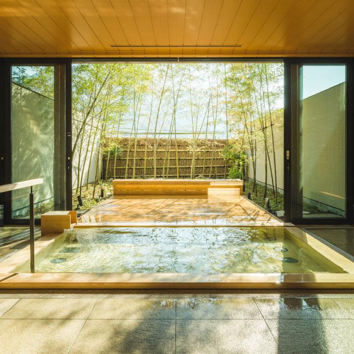 貸切風呂「檜の湯」