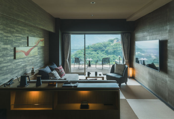 Deluxe Room With Open-Air Hot Spring Bath (Japanese Style)