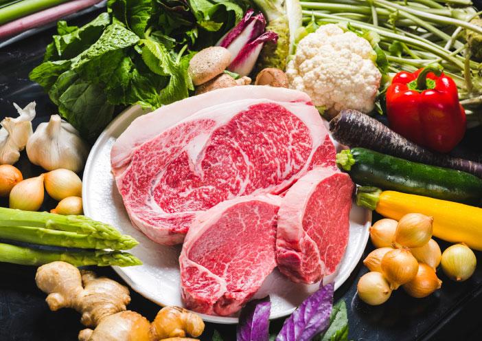 食材 肉・野菜